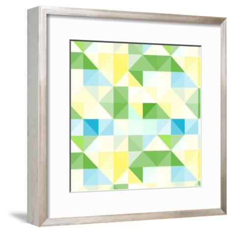 Seamless Pattern-svetolk-Framed Art Print