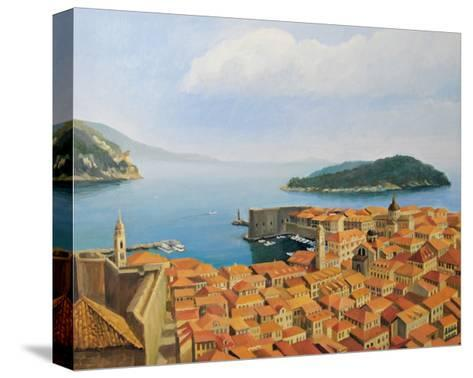 View From The Top Of The World-kirilstanchev-Stretched Canvas Print