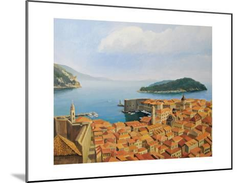 View From The Top Of The World-kirilstanchev-Mounted Art Print