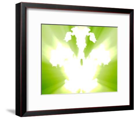 Mental Health Inkblot Background-kgtoh-Framed Art Print
