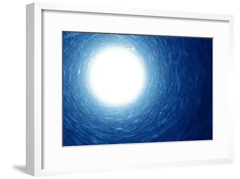 Light At The End Of The Tunnel- Dynamicfoto.-Framed Art Print