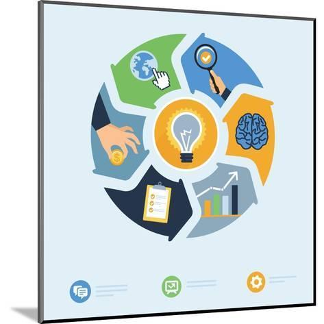 Business Start Up Concept-venimo-Mounted Art Print