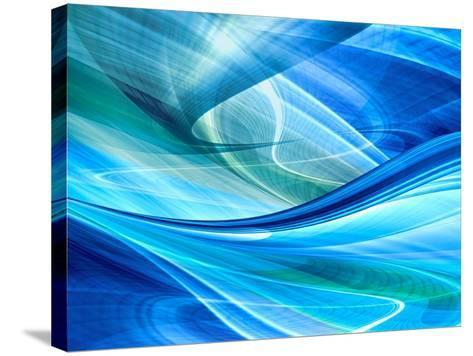 Abstract Background Illustration-Fotomak-Stretched Canvas Print