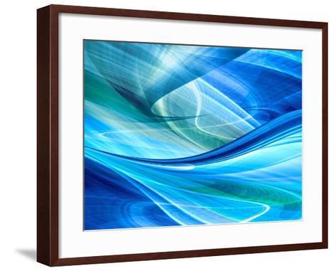 Abstract Background Illustration-Fotomak-Framed Art Print