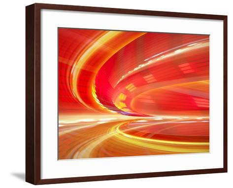 Abstract Background Illustration-Fotomak-Framed Art Print