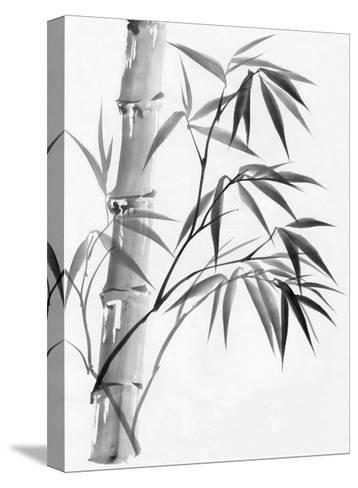 Watercolor Painting Of Bamboo-Surovtseva-Stretched Canvas Print