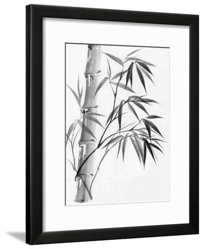Watercolor Painting Of Bamboo-Surovtseva-Framed Art Print