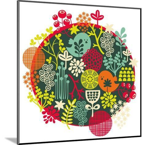 Birds, Flowers And Other Nature-panova-Mounted Art Print
