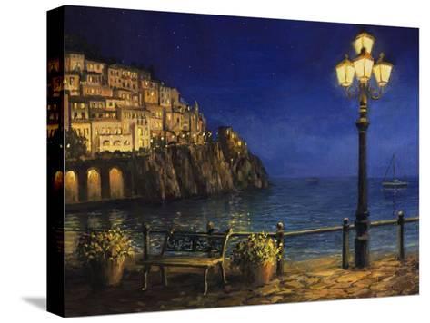 Summer Evening In Amalfi-kirilstanchev-Stretched Canvas Print