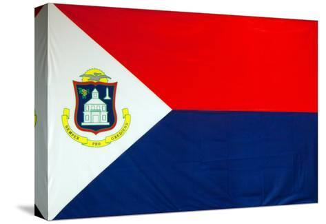 The Flag Of Sint Maarten-Leonard Zhukovsky-Stretched Canvas Print