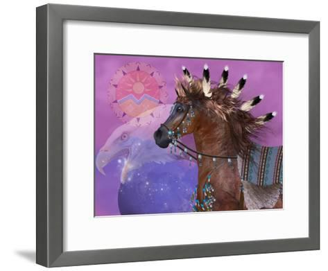 Year Of The Eagle Horse-Corey Ford-Framed Art Print