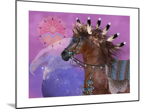 Year Of The Eagle Horse-Corey Ford-Mounted Art Print
