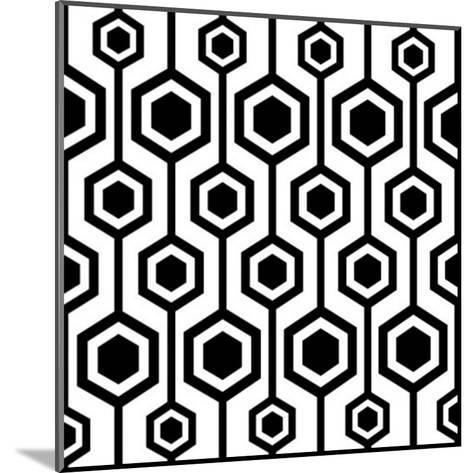 Seamless Retro Pattern-katritch-Mounted Art Print