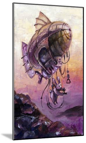 Rabbit The Dirigible Pilot-Leks-Mounted Art Print