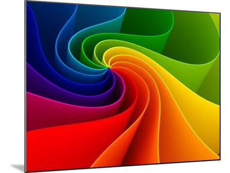 3D Colorful Background-Sashkin-Mounted Art Print