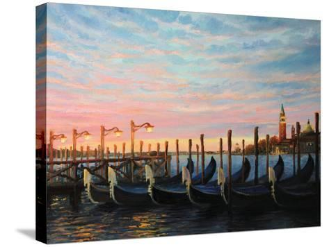 The Living Flame Of The Day-kirilstanchev-Stretched Canvas Print
