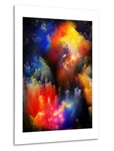 Unfolding Of Fractal Dreams-agsandrew-Metal Print