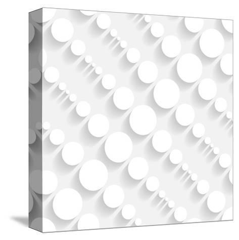 Seamless Geometric Pattern-Maksim Krasnov-Stretched Canvas Print