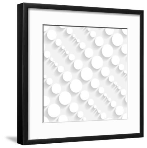 Seamless Geometric Pattern-Maksim Krasnov-Framed Art Print