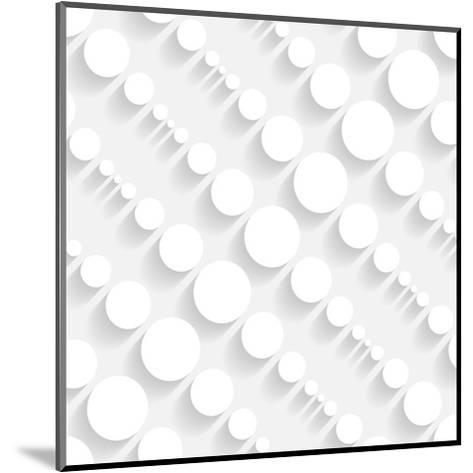 Seamless Geometric Pattern-Maksim Krasnov-Mounted Art Print