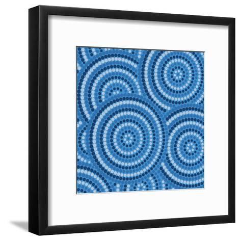 Aboriginal Abstract Art-Piccola-Framed Art Print