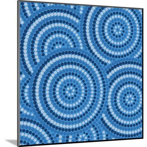 Aboriginal Abstract Art-Piccola-Mounted Art Print