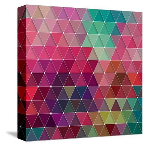 Geometric-Maksim Krasnov-Stretched Canvas Print
