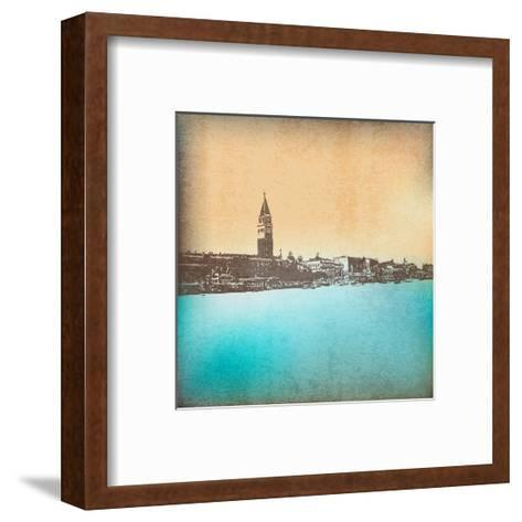 Venetian Vintage Background-Petrafler-Framed Art Print