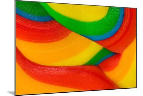 Texture Of Lollipop Macro-Dalibor Sevaljevic-Mounted Art Print