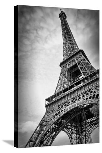 The Eiffel Tower In Paris-Giancarlo Liguori-Stretched Canvas Print