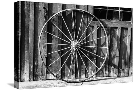 Wagon Wheel Background-Schub.Photo-Stretched Canvas Print