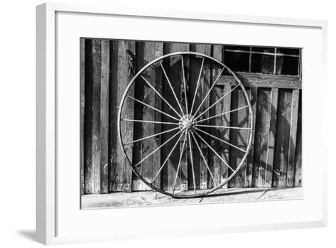 Wagon Wheel Background-Schub.Photo-Framed Art Print