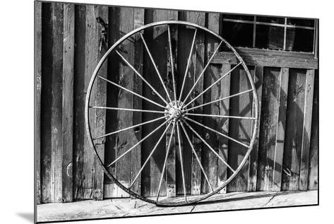 Wagon Wheel Background-Schub.Photo-Mounted Art Print