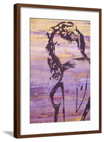 Original Oil Painting--Framed Art Print