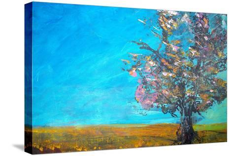 Original Oil Painting--Stretched Canvas Print