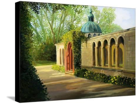 In The Gardens Of Sanssouci-kirilstanchev-Stretched Canvas Print