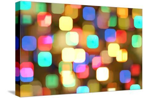 Abstract Colourful Lights- greatpapa-Stretched Canvas Print