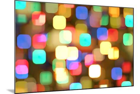 Abstract Colourful Lights- greatpapa-Mounted Art Print