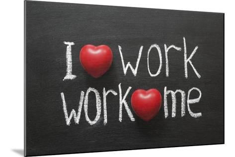 Love Work Mutually-Yury Zap-Mounted Art Print