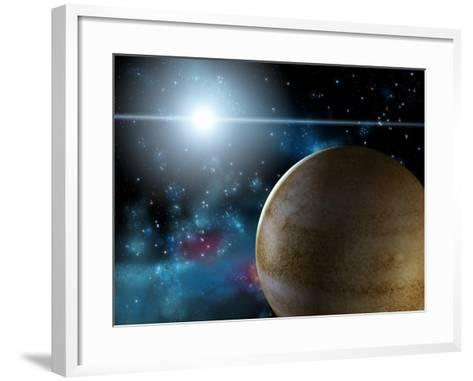 Planet And Star-Thufir-Framed Art Print