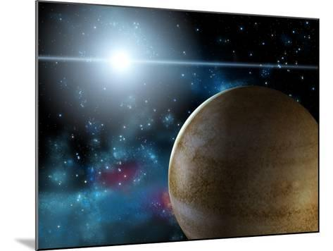 Planet And Star-Thufir-Mounted Art Print