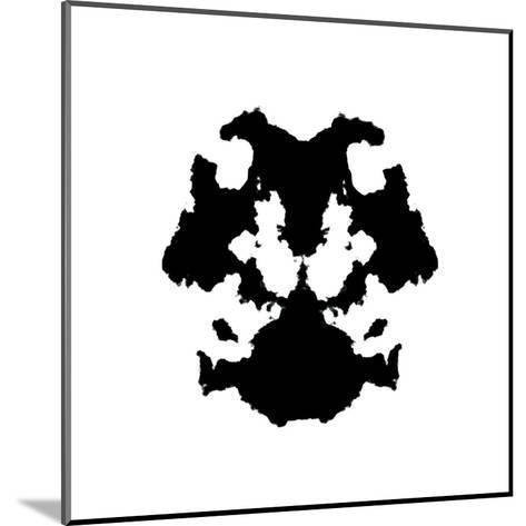 Rorschach Inkblot-kgtoh-Mounted Art Print