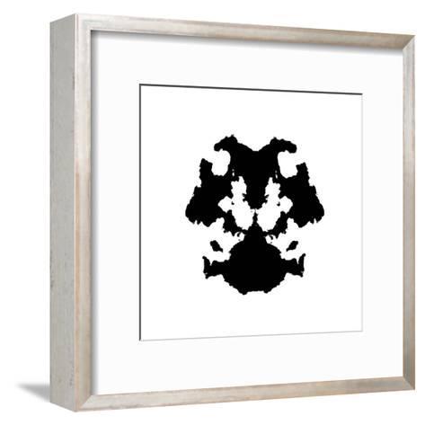 Rorschach Inkblot-kgtoh-Framed Art Print