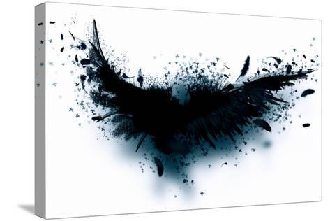Black Wings-Sergey Nivens-Stretched Canvas Print