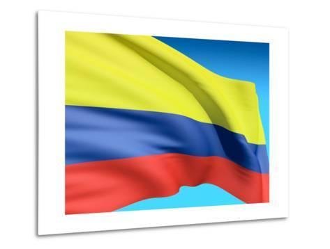Flag Of Colombia-bioraven-Metal Print