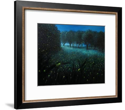 Ember Of Life-kirilstanchev-Framed Art Print