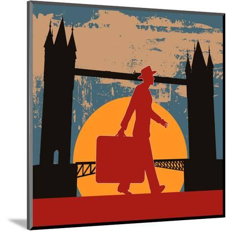 London Break-Petrafler-Mounted Art Print