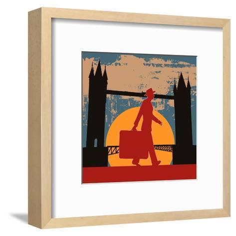 London Break-Petrafler-Framed Art Print