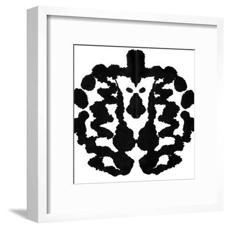 Rorschach Test-akova-Framed Art Print