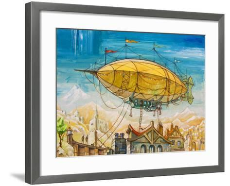 Dirigible-Leks-Framed Art Print